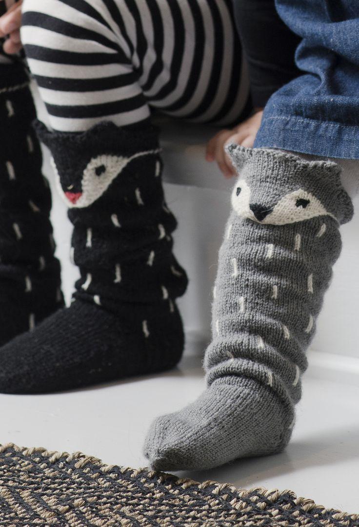 Neulotut Kettu-sukat Novita Venla   Novita knits