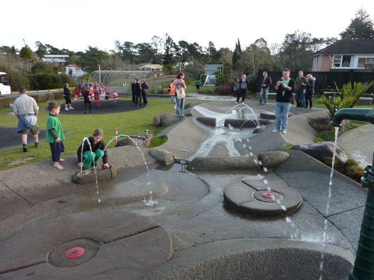 Wainoni Reserve water play