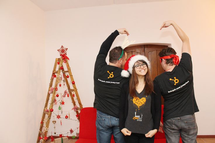 Christmas fun at the office - #Hubspotting around the world