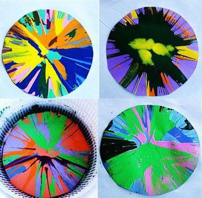 Spin Art , Technique de peinture - Loisirs créatifs