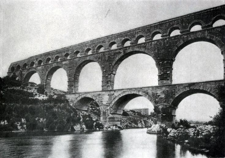 286. Гардский мост (акведук) в Ниме (южная Франция). 1 или 2 в. н. э.