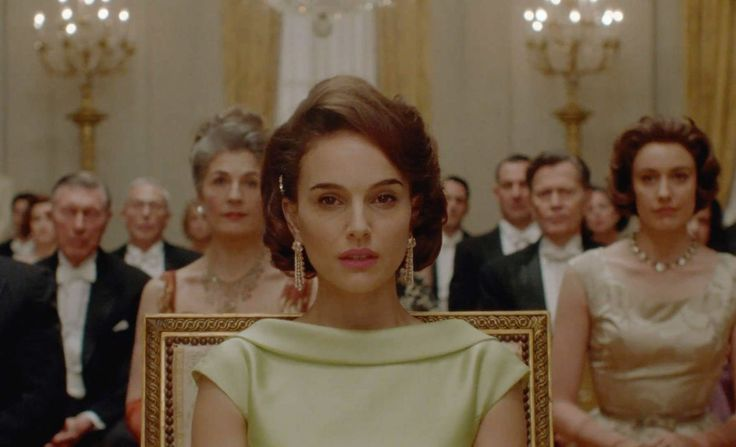 Natalie Portman seamlessly transforms into the role of our most beloved First Lady.