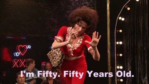 Sally O'Malley I'm Fifty. Fifty Years Old. | SNL ...
