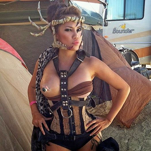 Burning Man 2015 Photos Of Girls  Bacon Is A Gateway Meat -3063
