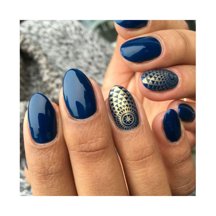 Dunkel blau und orientalisch - traut euch was! www.myloma.de