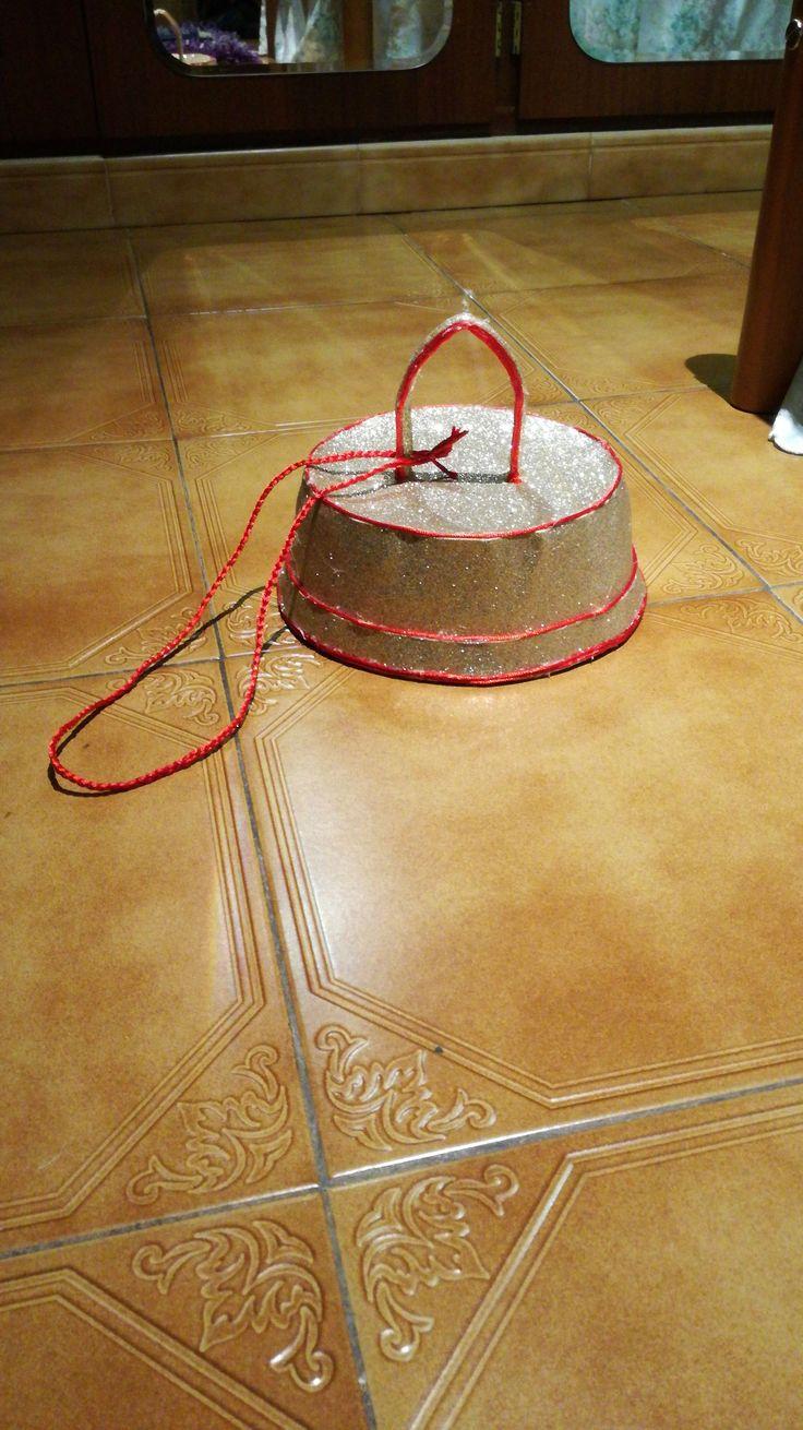 Sombrero disfraz bola de árbol de Navidad