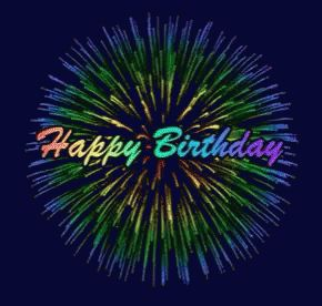 Happy Birthday Fireworks GIF - HappyBirthday Fireworks - Discover & Share GIFs