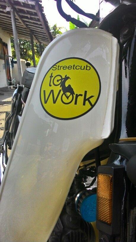 Streetcub to work