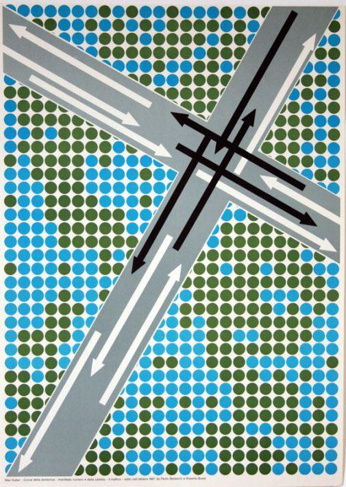 Progetto grafico del manifesto Max Huber (1919-1992).