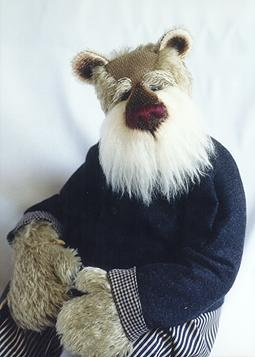 Henry Rowan, Grandfather Bear; Designed & Handmade by Janet Clark    (He reminds me of my father!)