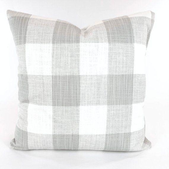 Buffalo Check Pillow Covers, Plaid