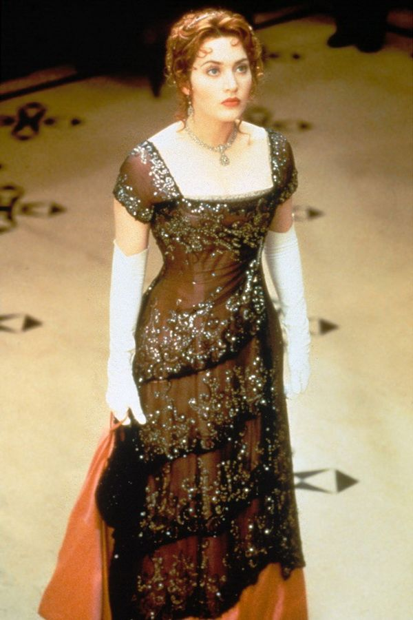 Красивые платья мирового кинематогрофа Вечернее платье Кейт Уинслет фильм Титаник, 1997 год