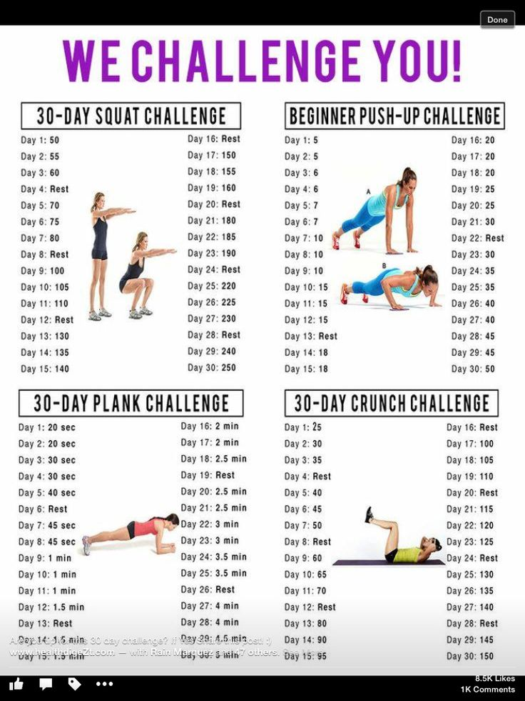 30 days from beginner challenge.