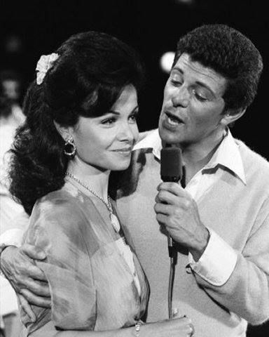 Annette and Frankie Avalon in The Second Time Around, 1978