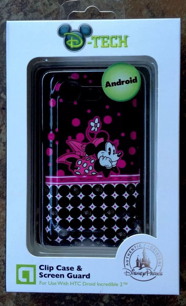 Disney Minnie Mouse Phone Clip Case and Screen Guard for HTC Droid Incredible 2 | eBay