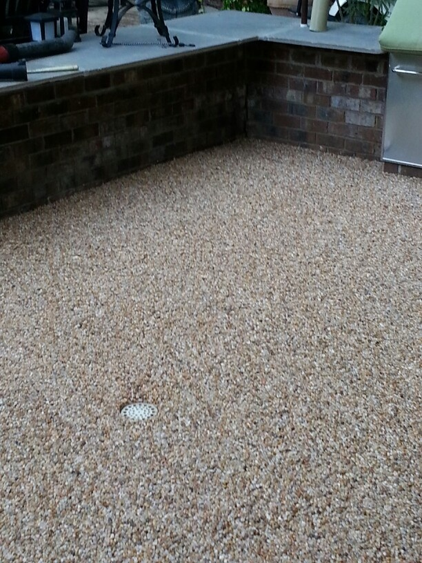 Epoxy Pebble Patio Pebble Patio Patio Flooring