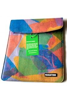 Hand Recycled Plastic Bags - Ipad Cover
