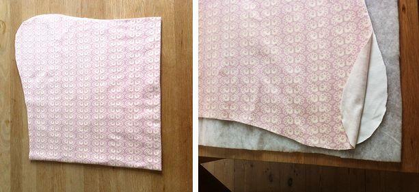 DIY tutorial: Babytæppe til autostolen!