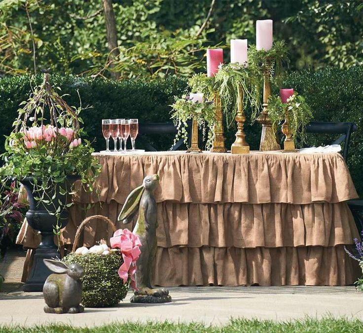 17 best images about set the easter spring table on pinterest cabbages tablescapes and - Thanksgiving decorations on sale ...