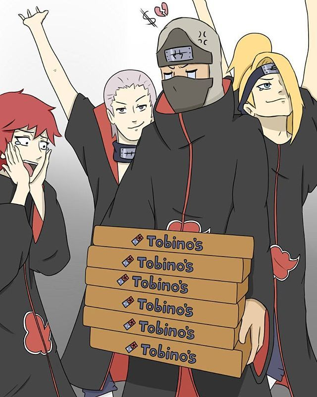 Wait, why is Sasori so excited, I thought he can't eat because he's a puppet....