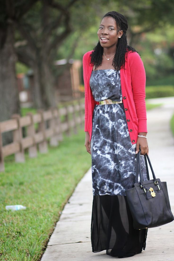 Business Maxi Dress