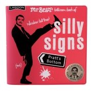 mr Bean's batroom book -Silly signs