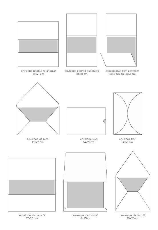 Modelos envelopes                                                                                                                                                                                 Mais