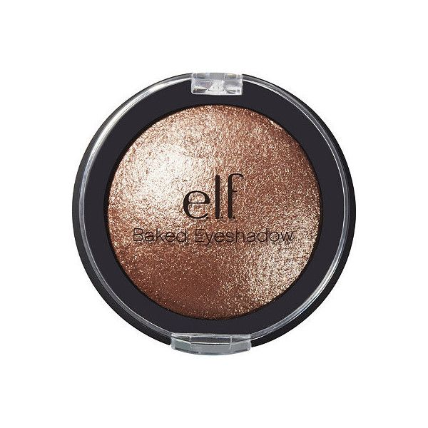 e.l.f. Cosmetics Online Only Baked Eyeshadow (1,035 MXN) ❤ liked on Polyvore featuring beauty products, makeup, eye makeup and eyeshadow