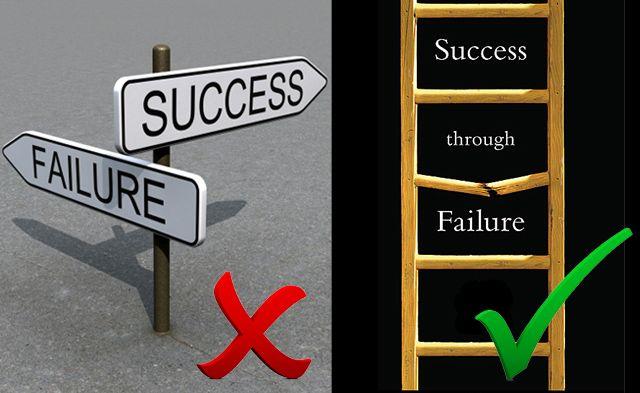 Para tener éxito hay que exponerse al Fracaso