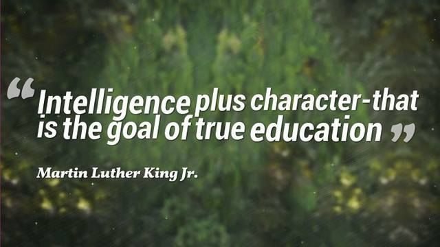 """Intelligence plus character-that is the goal of true education."" #Alagappa #Institute #of #Technology."