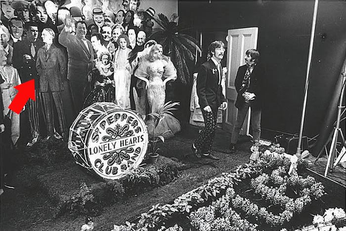 """Hitler Did Not Make The Final Cut On The Beatles """"Sgt. Peppers Lonely Hearts Club Band"""" Album Cover   FeelNumb.com"""