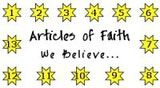 Articles of Faith Punch Card