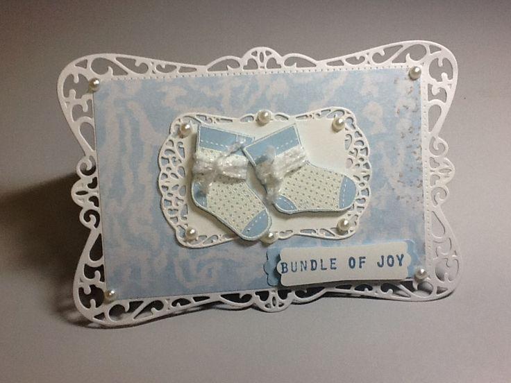 Cute baby card for my niece.  SU Xmas set