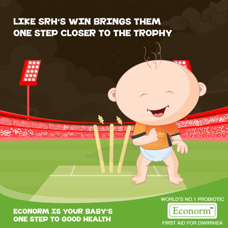Congratulations Sunrisers on your win! Like every consistent game brings the team closer to winning the IPL, Econorm too works consistently to defeat diarrhea from the second day! #Econorm #IPL #SunrisersHyderabad