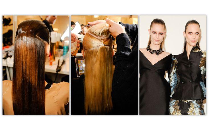 coiffure défilé Gucci automne-hiver 2013-2014