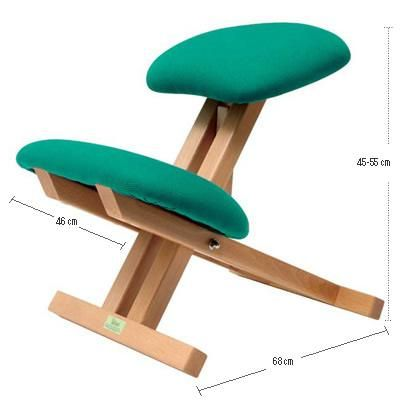 M s de 1000 ideas sobre sillas de madera plegables en for Sillas ergonomicas para ordenador