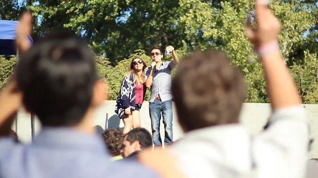 Mira que bien lo pasaron los estudiantes de Derecho en su paseo y asado para celebrar el día de su facultad. #derecho #umayor #estudiantes #universidad