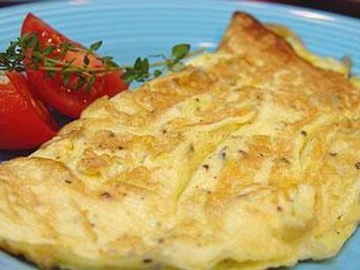 Recette Omelette minute soufflée au fromage au micro-ondes