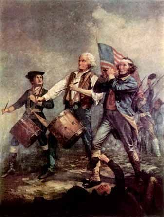 The American Revolutionary War: A Timeline of Major Events  For DOMINO notebooks, with links to kid-friendly explanations of each cause