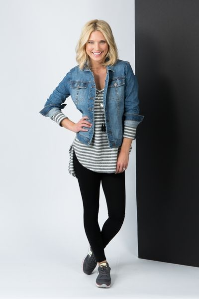 I have a jean jacket that I would like to incorporate into my style more enough!