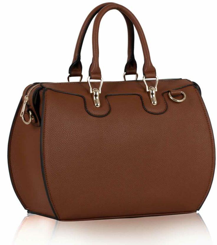 Brown office bag.