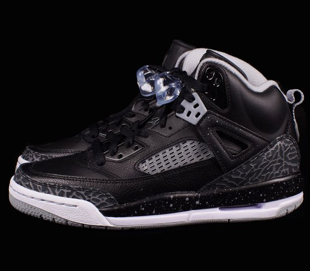 Jordan Spizike GS–Black-Cool Grey-Wolf Grey