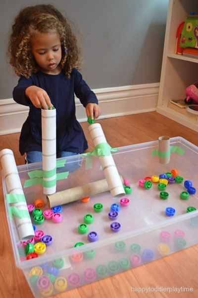 TUBES AND CAPS – HAPPY TODDLER PLAYTIME
