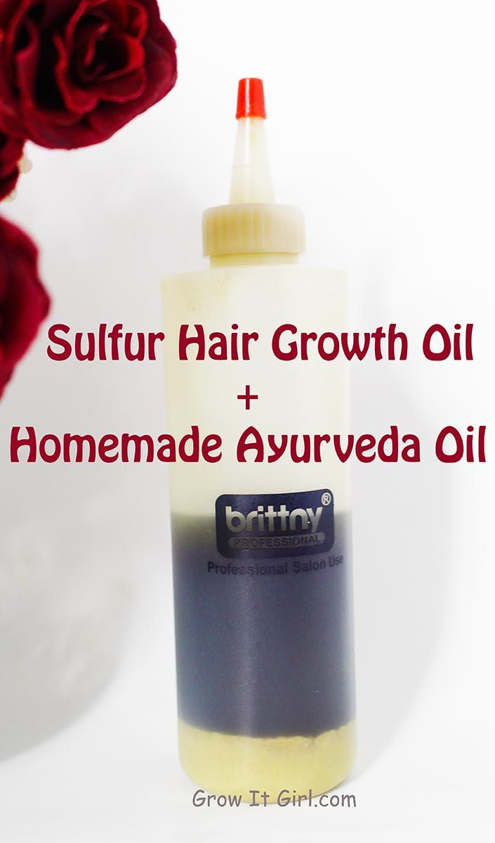 Sulfur hair growth oil recipes and how I've successfully used the mix over the last five years. I've experience great results and it is a hair growth staple