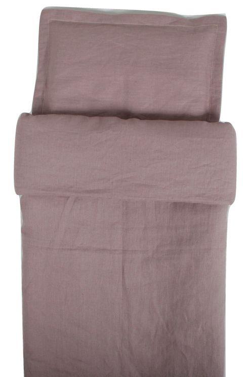 799 kr: NG Baby Påslakan Spjälsäng Dusty Pink 100 x 130 cm