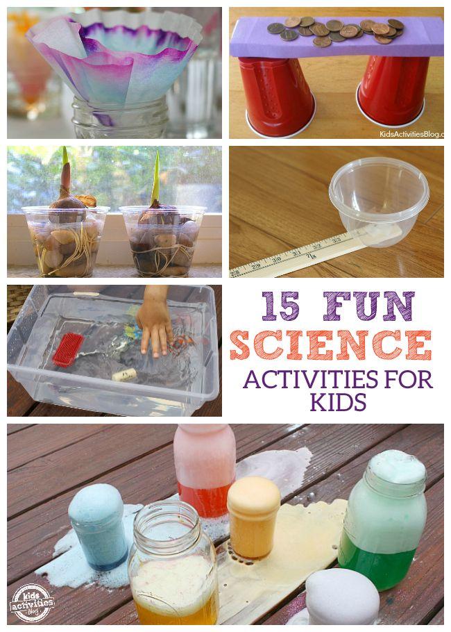 15 Fun Science Activities for Kids!