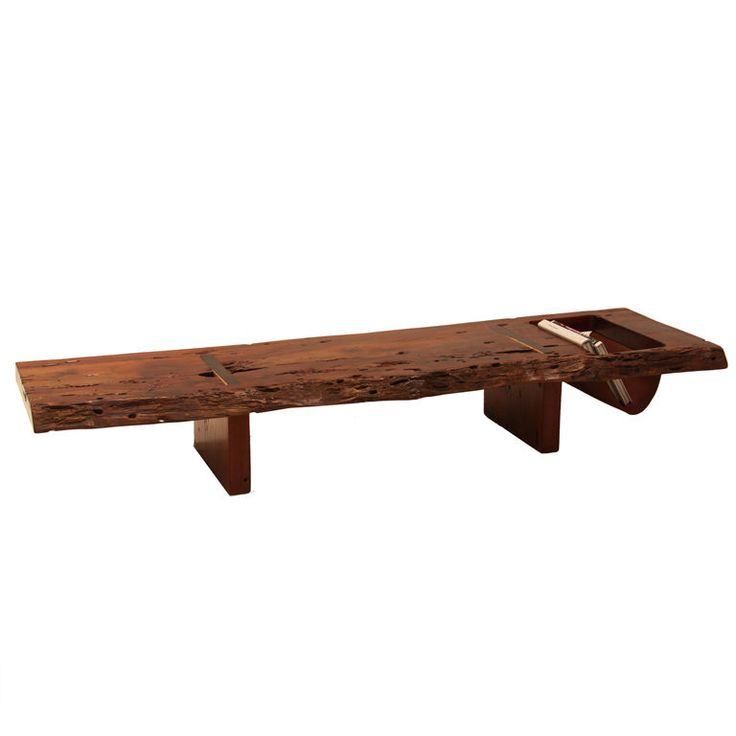Live Edge Solid Slab Of Tamboril Coffee Table By Tunico T: 1000+ Images About Slab Furniture On Pinterest