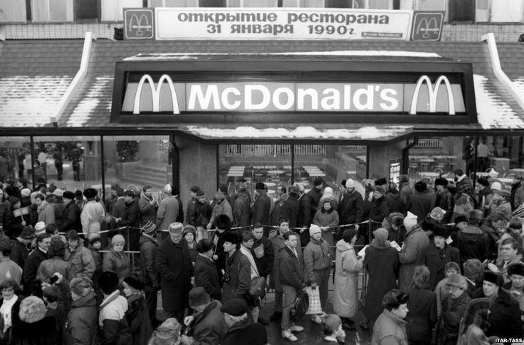 Москва, 1990. В город пришел Биг-Мак
