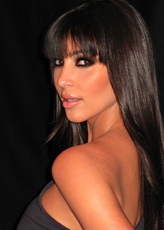 Like the bangs...not her :)