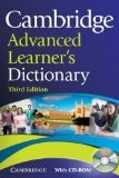 Cambridge Advanced Learner's Dictionary with CD-ROM (Dictionary & CD Rom)
